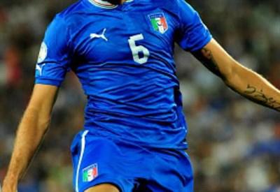 Maglia nazionale italiana (Infophoto)