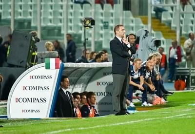 Devis Mangia, allenatore dell'Under 21 (Infophoto)
