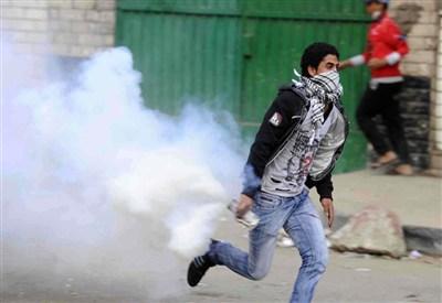 Le proteste in Egitto (Foto: InfoPhoto)