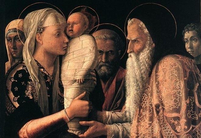 Andrea Mantegna, Presentazione di Gesù al tempio (1465-66)
