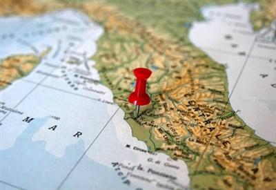 Una mappa geografica (Foto: Infophoto)