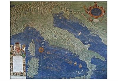 Galleria delle carte geografiche dei Musei Vaticani (particolare)