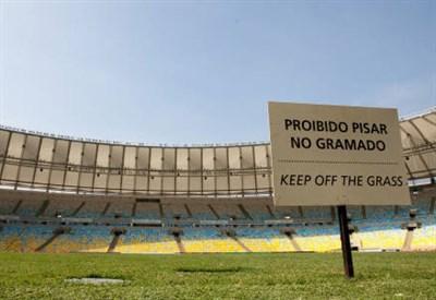 L'Estadio do Maracana di Rio de Janeiro (INFOPHOTO)