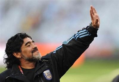 Diego Armando Maradona (Infophoto)
