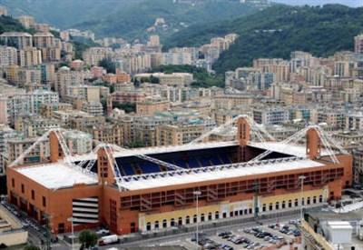 Lo stadio Marassi (Infophoto)