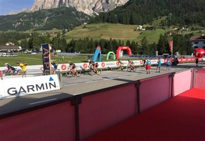 In azione! (da Facebook Maratona dles Dolomites)