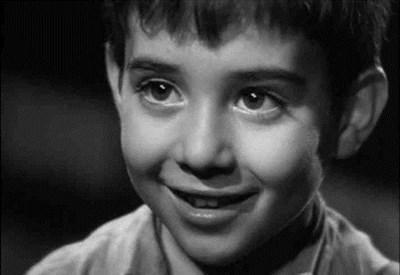 "Dal film ""Marcellino pane e vino"" (1955) di L. Vajda"