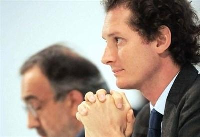 John Elkann e Sergio Marchionne (Infophoto)