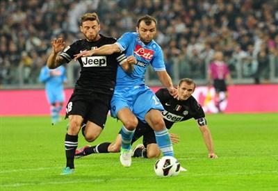 Marchisio e Pandev, due degli uomini più attesi di Napoli-Juventus (Infophoto)