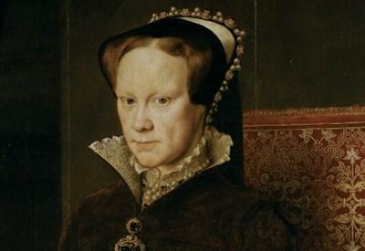 Maria Tudor ritratta da Antonio Moro (1554)