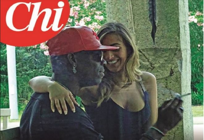 Mario Balotelli, week-end d'amore con Serena