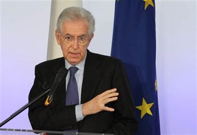 Mario Monti, presidente del Consiglio dei Ministri