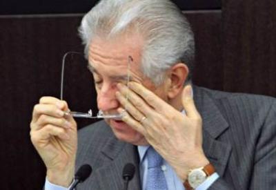 Il presidente del Consiglio, Mario Monti (InfoPhoto)