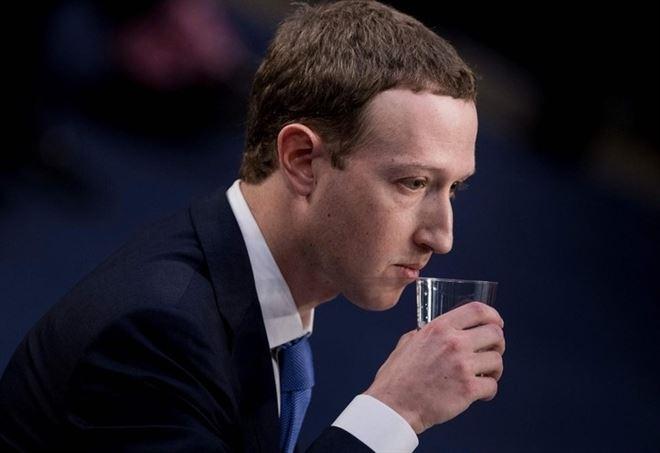 Mark Zuckerberg, fondatore di Facebook (foto da Lapresse)
