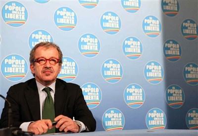 Roberto Maroni (Infophoto)