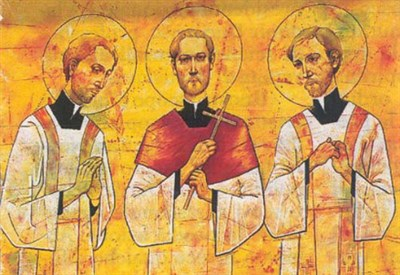 I tre martiri di Kosice