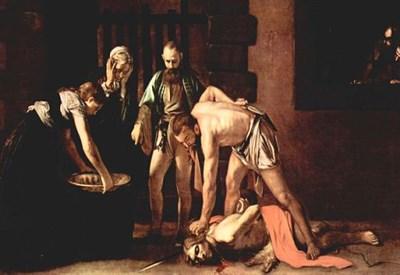 Decollazione di san Giovanni Battista - Caravaggio