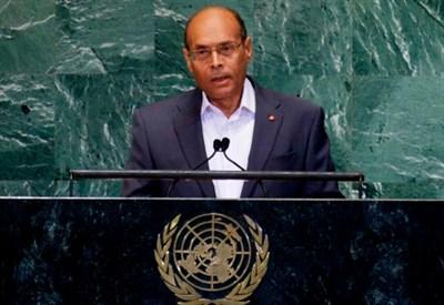 Il presidente Moncef Marzouki