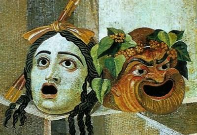 Mosaico romano del I secolo a.C. (Immagine dal web)
