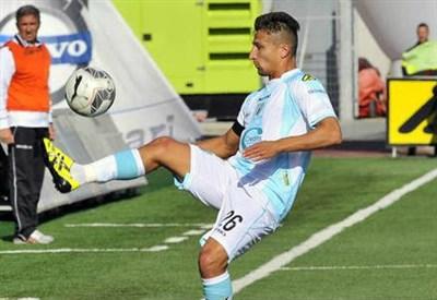 Gaetano Masucci, 31 anni, centrocampista della Virtus Entella (dall'account Twitter ufficiale @V_Entella)