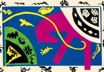"Henri Matisse, illustrazione per ""Jazz"" (Foto dal web)"