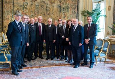 L'incontro con il Presidente Mattarella