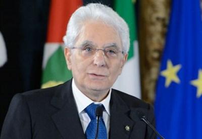 Il presidente della Repubblica, Sergio Mattarella (Infophoto)