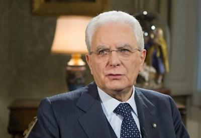 Sergio Mattarella (Foto dal sito del Quirinale)