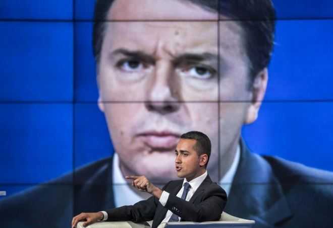 Sondaggi Politici, Luigi Di Maio e Matteo Renzi (LaPresse)