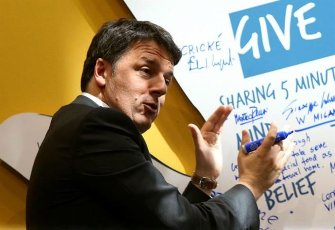 Ballottaggi elezioni comunali 2017: Matteo Renzi (LaPresse)