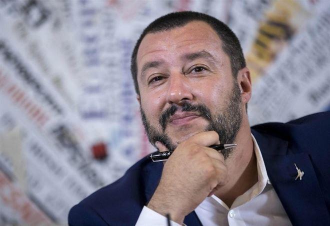 Sondaggi Politici, Matteo Salvini (LaPresse)