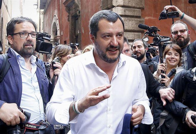 Matteo Salvini sulle pensioni - LaPresse