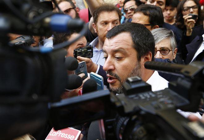Matteo Salvini, vicepremier e ministro dell'Interno (LaPresse)