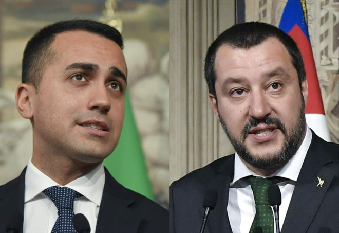 Luigi Di Maio e Matteo Salvini (LaPresse)