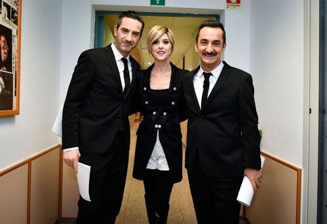Matteo Viviani - Nadia Toffa - Nicola Savino (Le Iene)