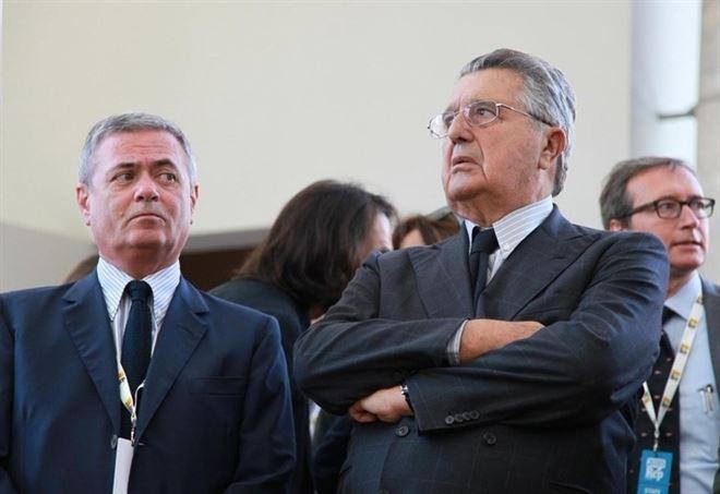 Ezio Mauro e Carlo Debenedetti, la