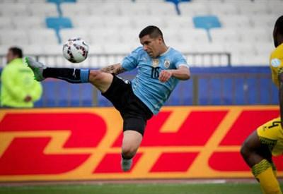 Maxi Pereira, 31 anni, terzino dell'Uruguay (INFOPHOTO)
