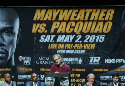 Pacquiao vs Mayweather