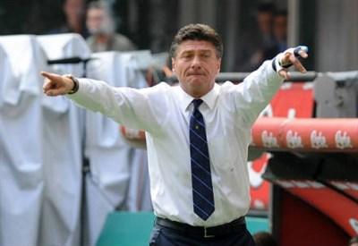 Walter Mazzarri, allenatore dell'Inter (Foto Infophoto)