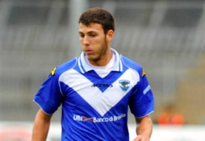Luca Mazzitelli, 20 anni, centrocampista del Brescia (INFOPHOTO)