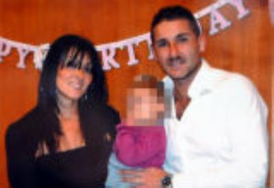 Melania Rea con la famiglia