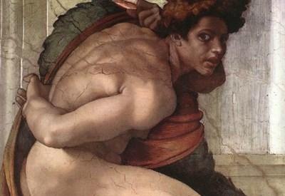 Michelangelo, Cappella Sistina (particolare, 1508-12)