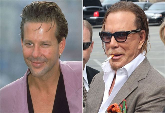 Mickey Rourke a Music