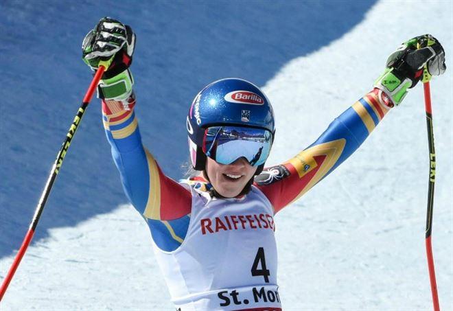 Diretta slalom Zagabria: Mikaela Shiffrin (LaPresse)