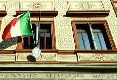 Il liceo classico Manzoni di Milano (Foto: www.liceomanzoni.net)