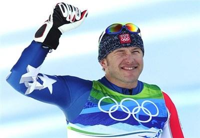 Bode Miller, sciatore americano (Infophoto)