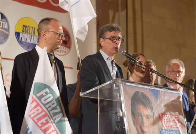 Mino Cannito sindaco di Barletta (Foto: da Facebook)