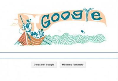 Il logo odierno di Google dedicato ad Herman Melville