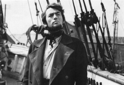 """Gregory Peck in """"Moby Dick"""" di John Huston (1958) (Immagine d'archivio)"""