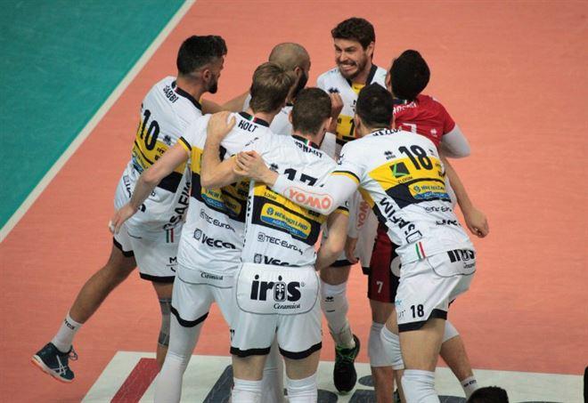 La formazione di Modena - Risultati volley Serie A1 (da twitter ufficiale)